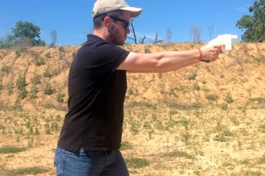 The World's First 3D-Printed Gun Can Now Be Downloaded & Fired
