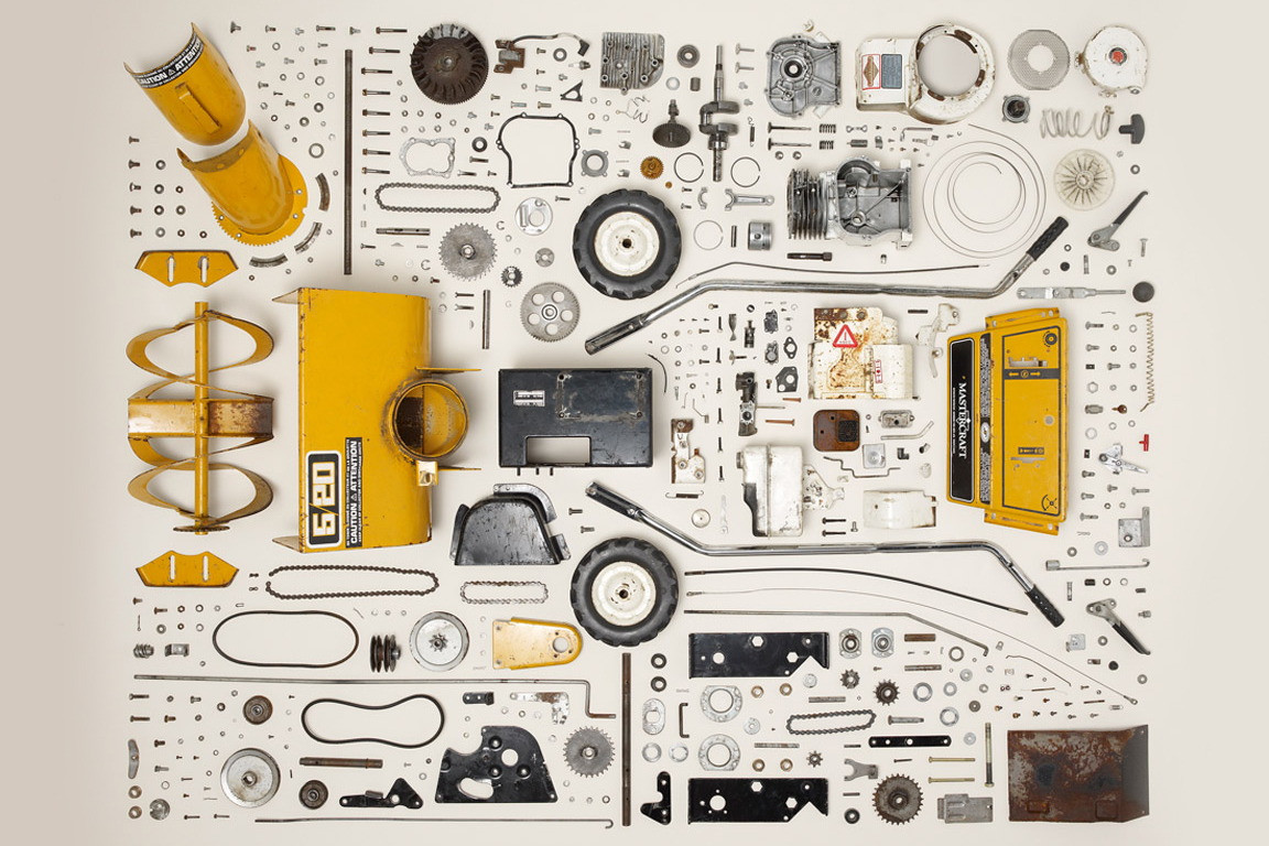 """things come apart"" Exhibition Explores Deconstructed Daily Household Items"