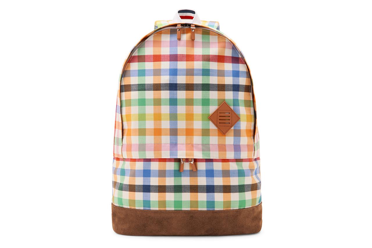 Thom Browne Checkered Backpack
