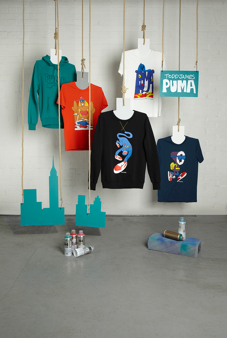 todd james x puma 2013 fall winter capsule collection