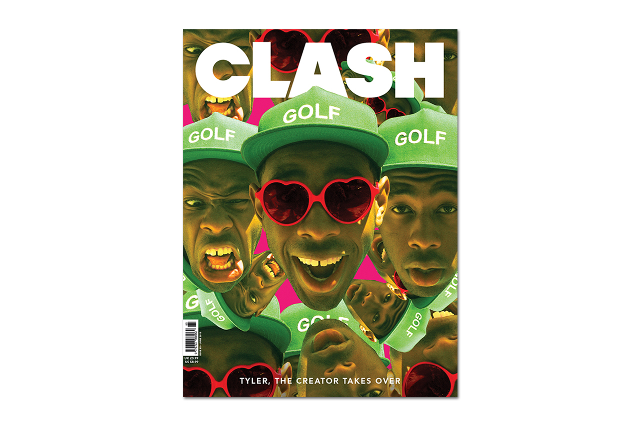tyler the creator takes over clash magazines june 2013 issue