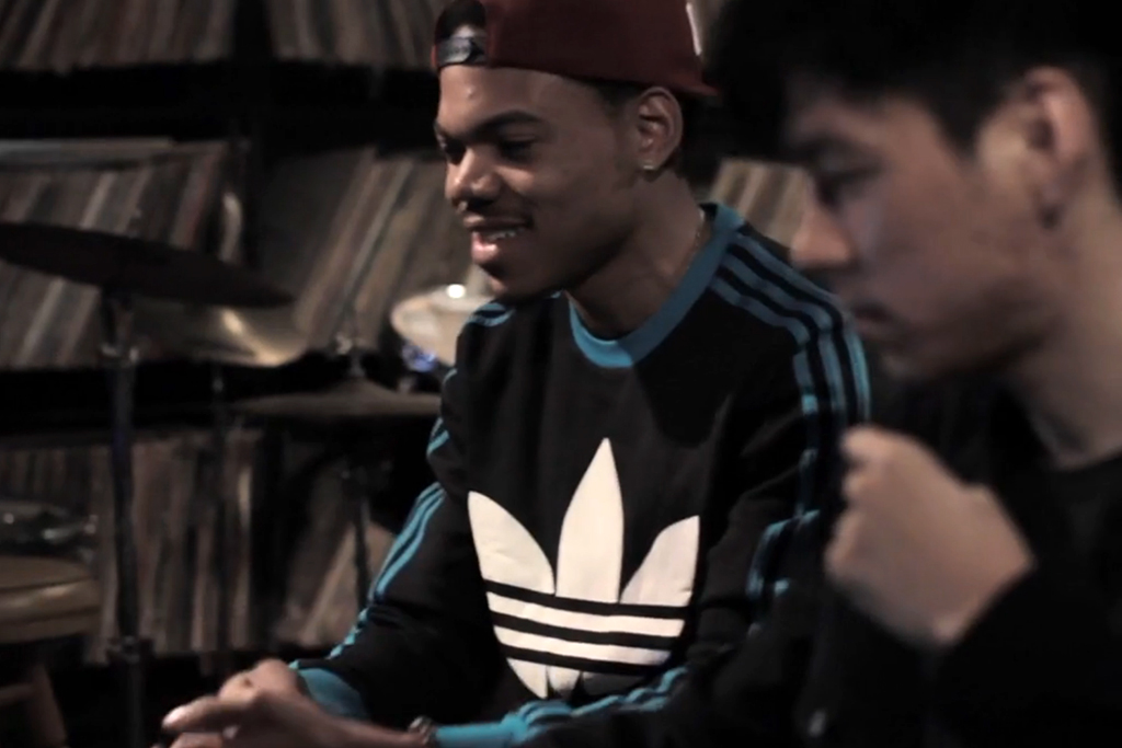 """Watch and Listen to Chance the Rapper & Nosaj Thing's """"Paranoia"""""""