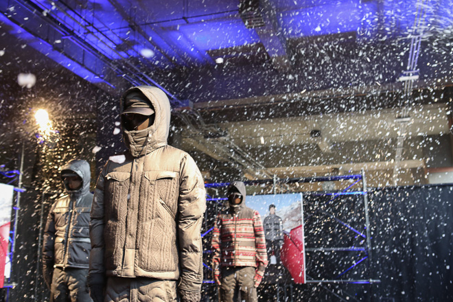 "White Mountaineering x Moncler 2013 Fall/Winter ""Moncler W"" Collection"