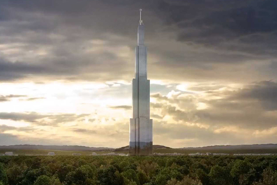 will sky city in china become the worlds tallest building