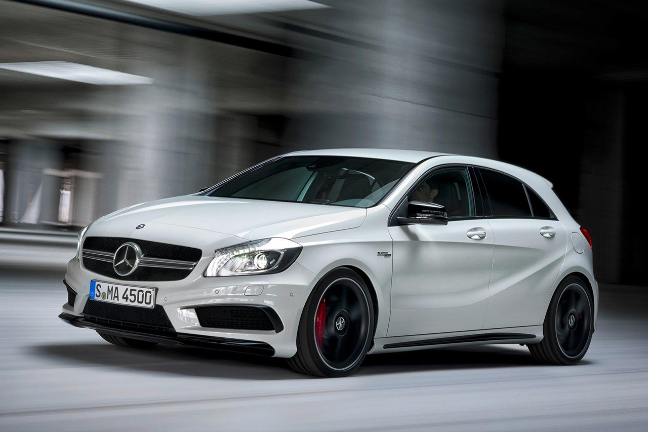 2014 mercedes benz a45 amg to make its debut this august
