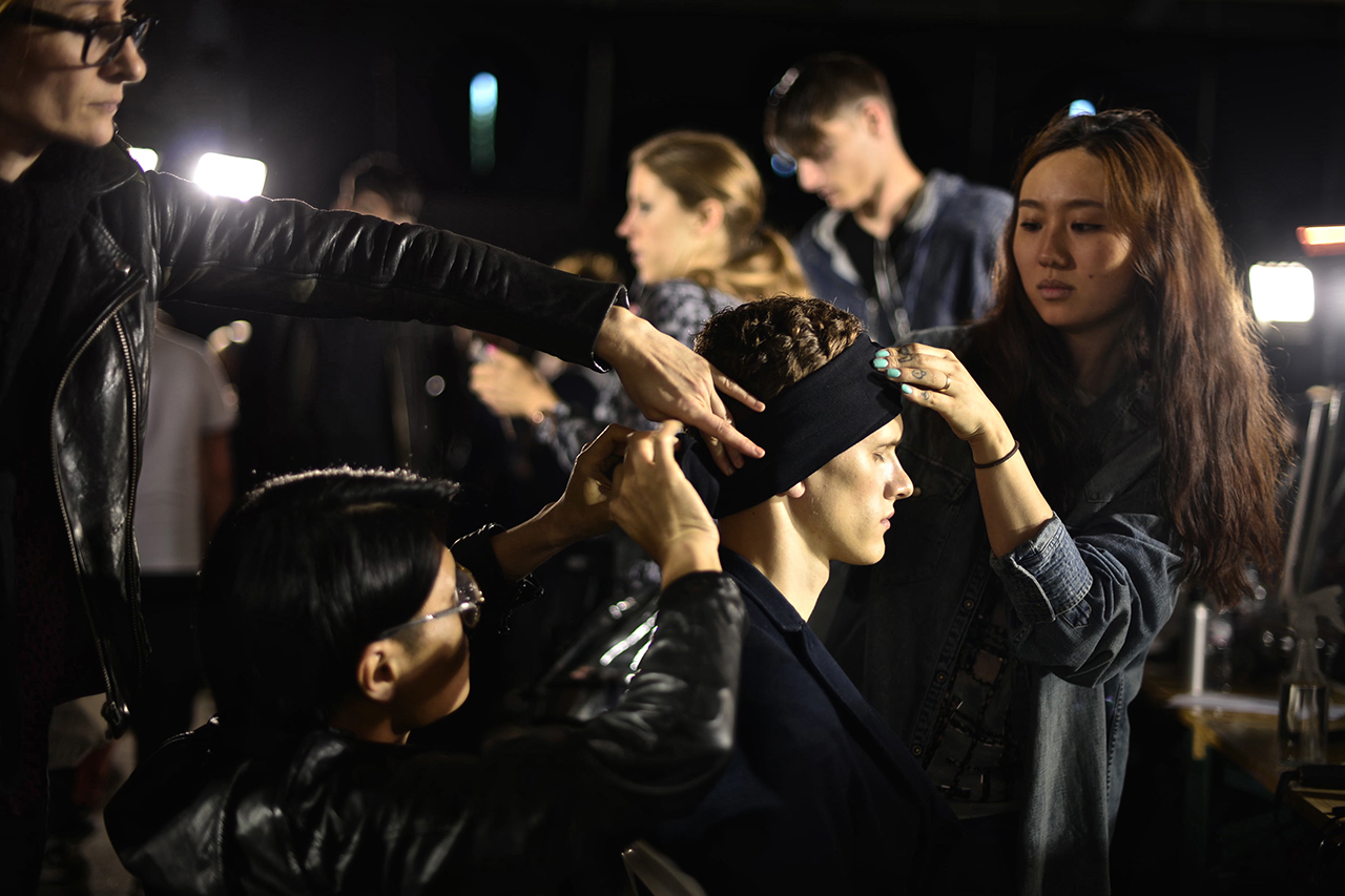 3.1 Phillip Lim 2014 Spring/Summer Backstage Visuals