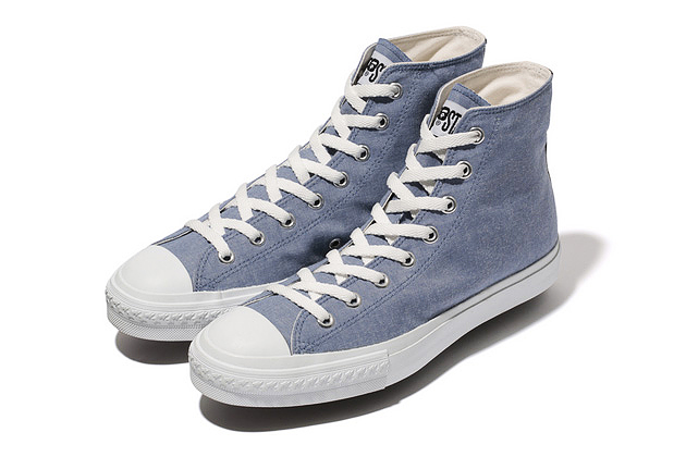 A Bathing Ape 2013 Chambray Apesta Hi
