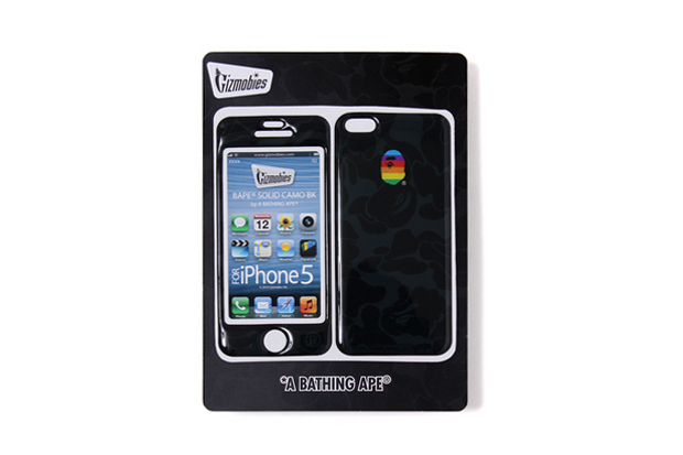 A Bathing Ape x Gizmobies iPhone 5 SOLID CAMO PROTECTOR