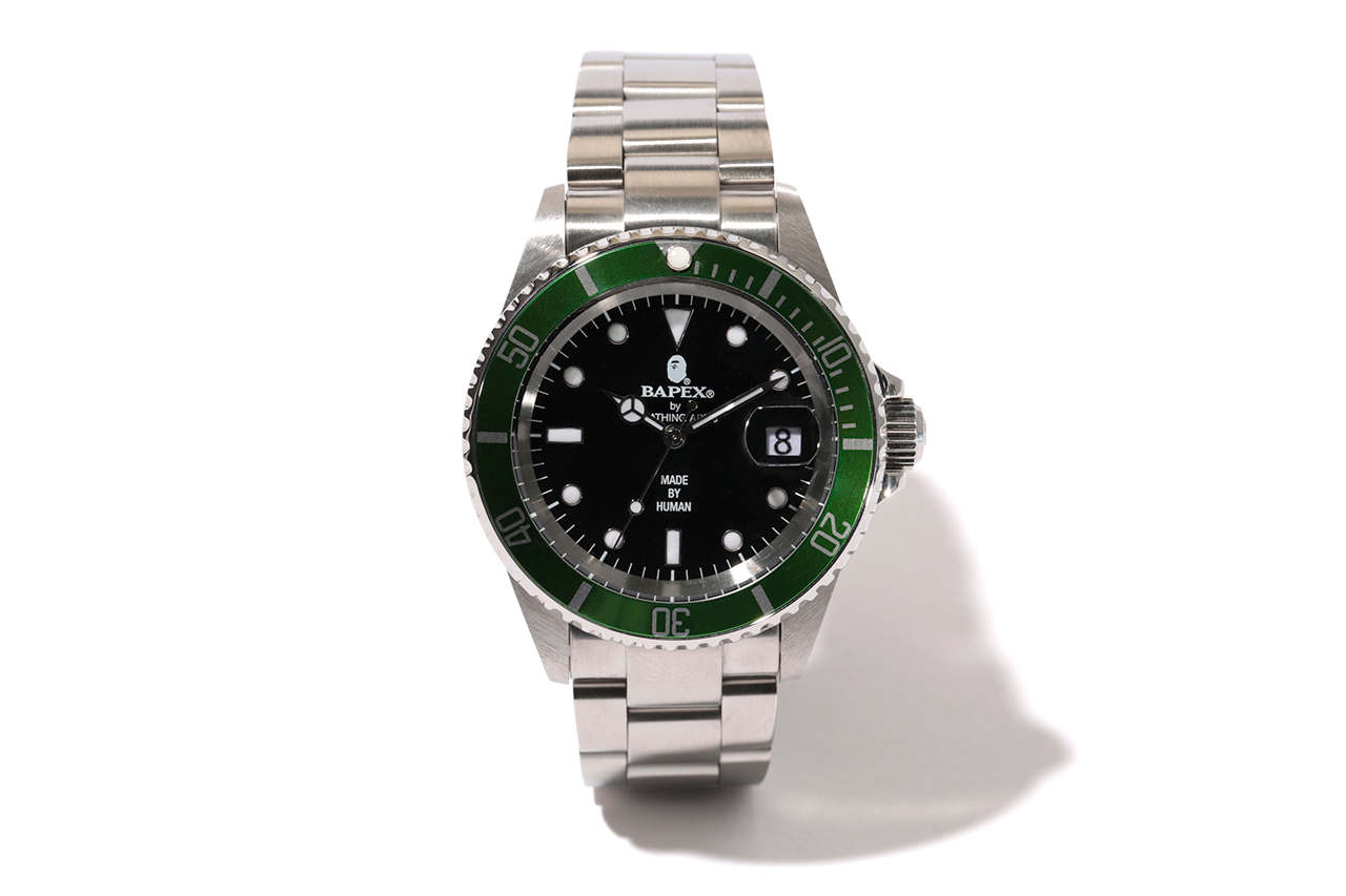 a bathing ape submariner bapex