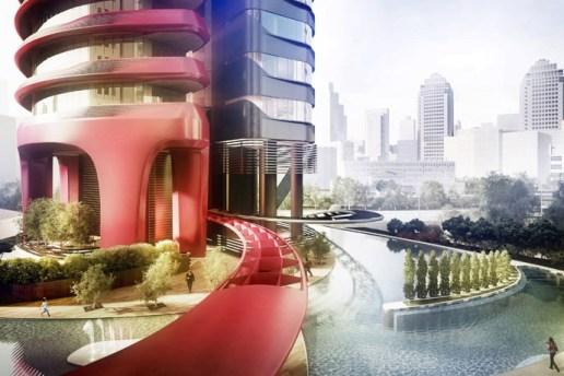 A Look at Pininfarina's Ferra Luxury Residential Condominium in Singapore