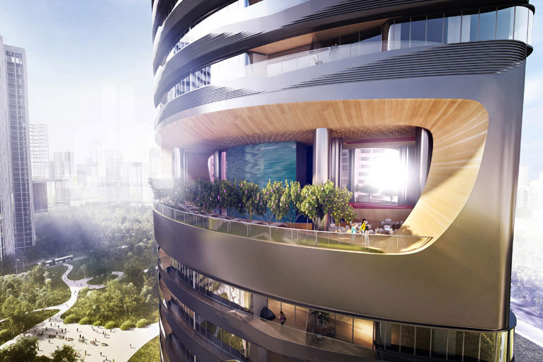A Look at Pininfarina's Ferra Luxury Residential Condominium in Singapore