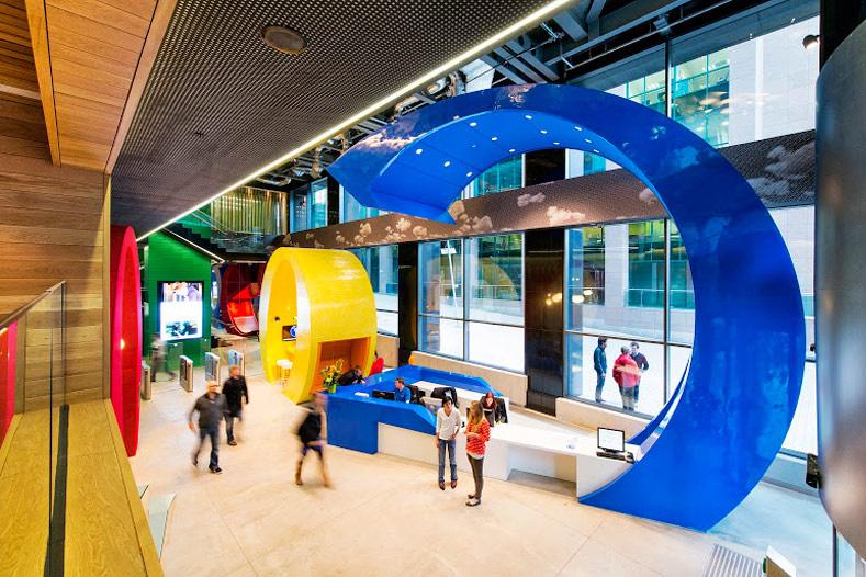 A Look Inside Google's Dublin Headquarters