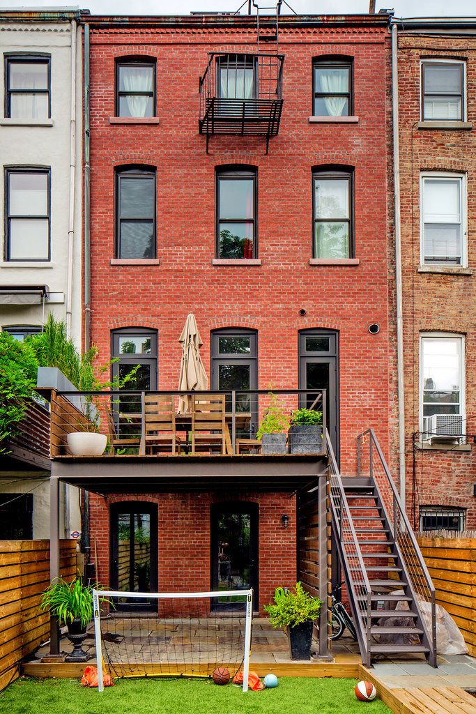 a look inside mike ds brooklyn townhouse