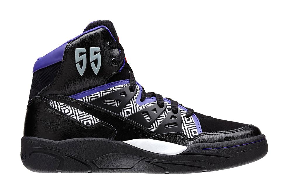 adidas Mutombo Black/White/Purple