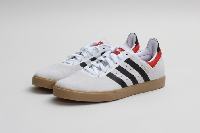 adidas Skateboarding Busenitz ADV Run White/Black-Brick
