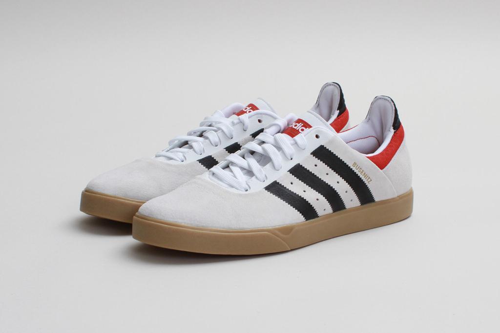 adidas Skateboarding Busenitz ADV Run White/Black-Brick