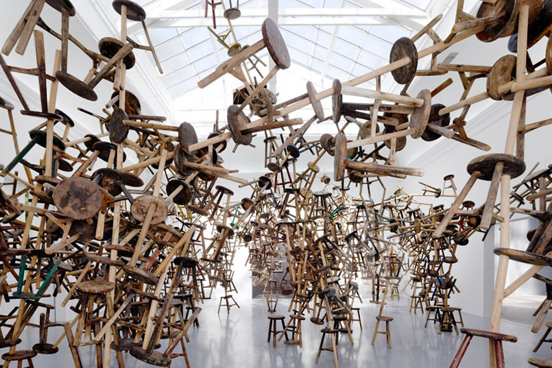 ai wei wei bang installation at venice art biennale 2013