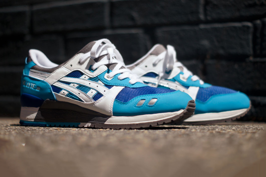 ASICS Gel Lyte III Blue/White Kith Exclusive