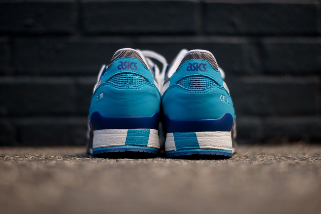 ASICS Gel Lyte III Blue/White Kith Exclusive