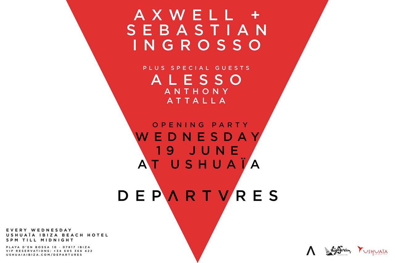 Axwell & Sebastian Ingrosso Present Departures Ibiza