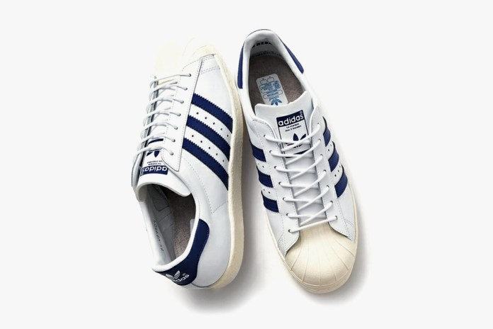 Beauty & Youth x adidas Originals Superstar '80s Navy