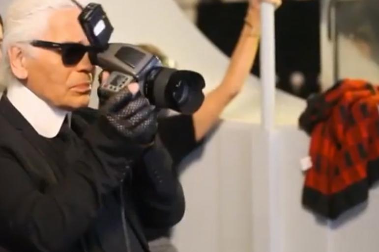 Behind the Scenes of the KARL LAGERFELD 2013 Eyewear Campaign