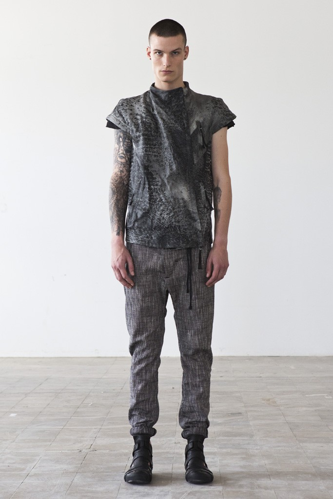 boris bidjan saberi 2014 spring collection