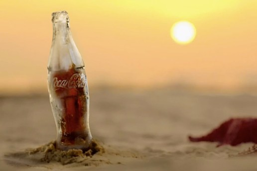 Coca-Cola Introduces New Bottle Made from Ice