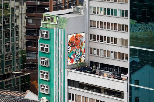 "Converse's ""Wall to Wall"" Leaves Its Impressions on Hong Kong"