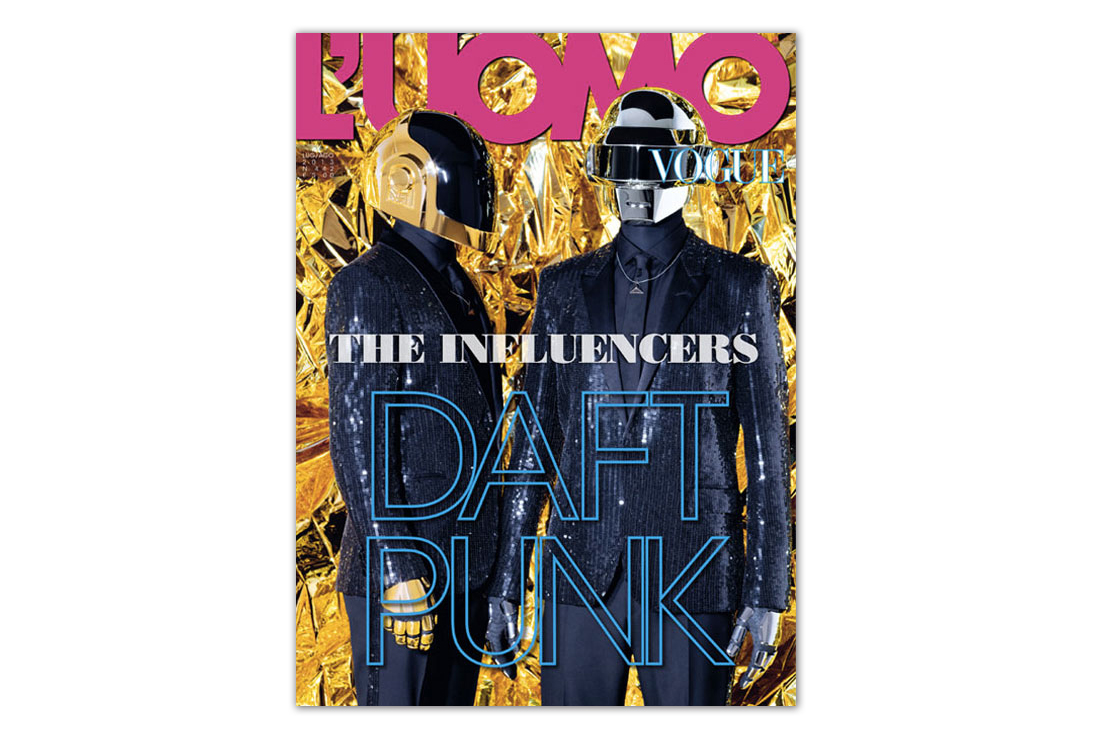 daft punk for luomo vogue cover