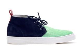 Del Toro Seafoam Stingray Alto Chukka Sneaker