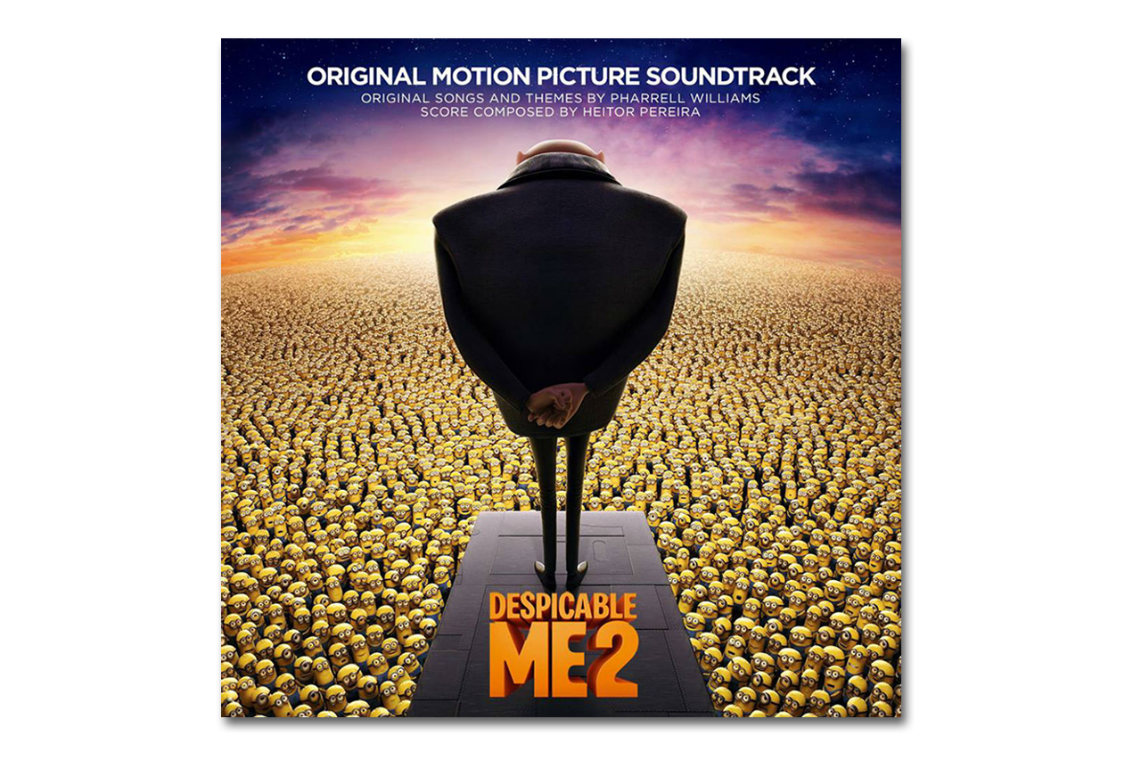 despicable me 2 official soundtrack album stream