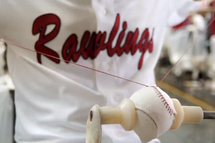 Discover the Craft of Rawlings Baseballs by Chevrolet
