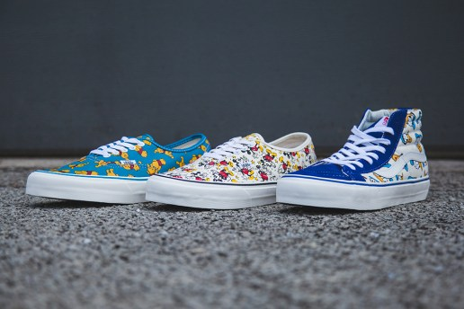 Disney x Vans Vault 2013 Fall OG Classics Collection