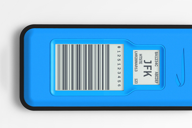 electronic luggage tags by british airways give real time bag tracking