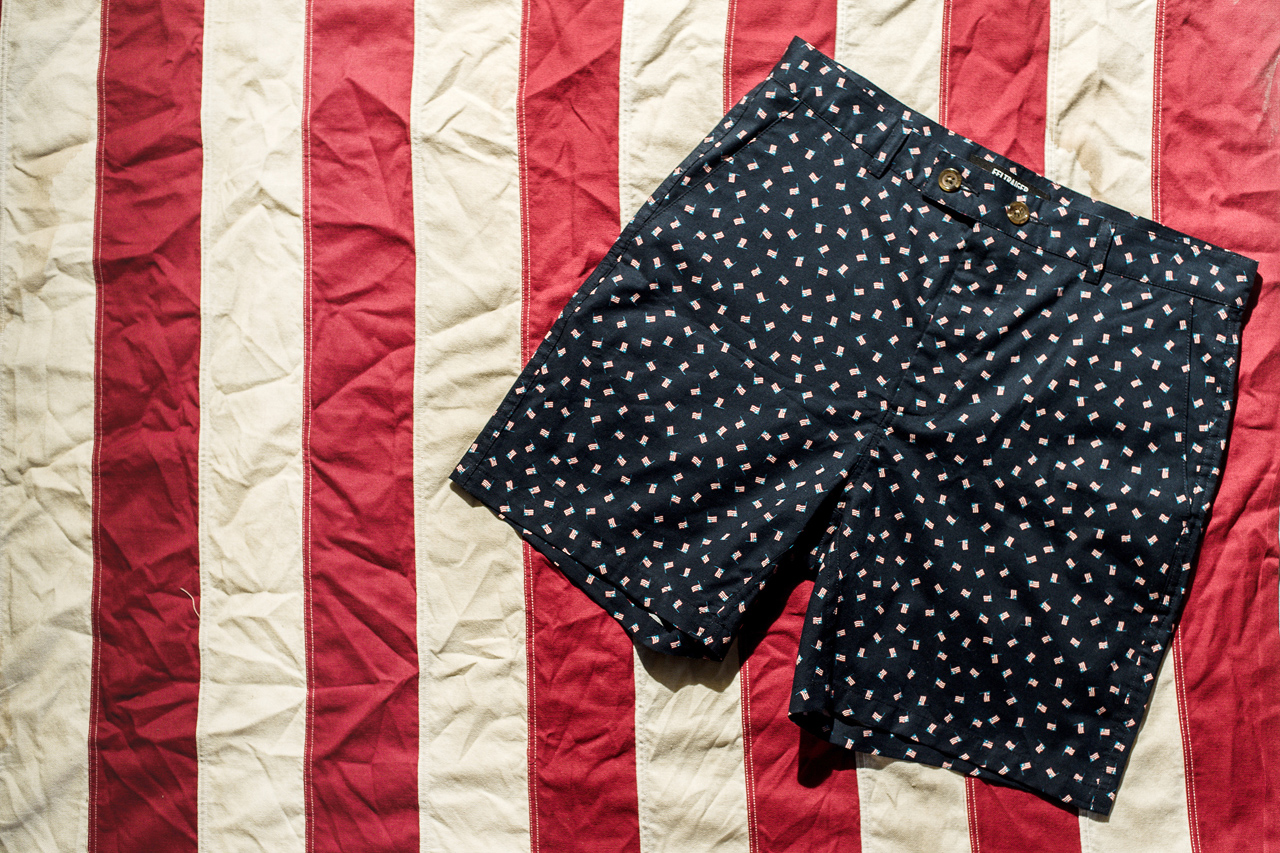 feltraiger x stock mfg co american flag shorts