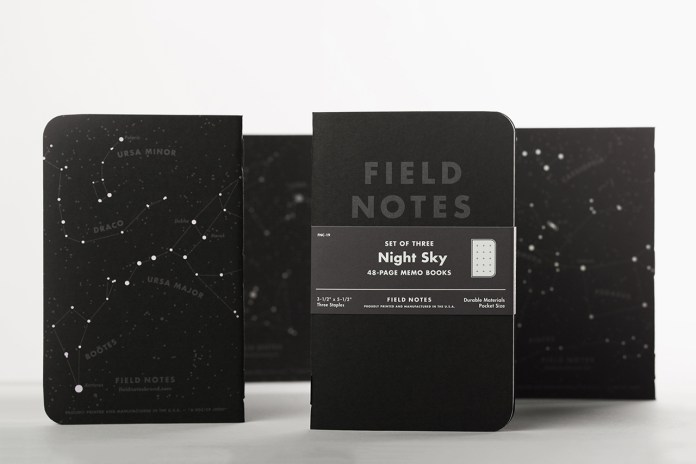 Field Notes Night Sky Edition