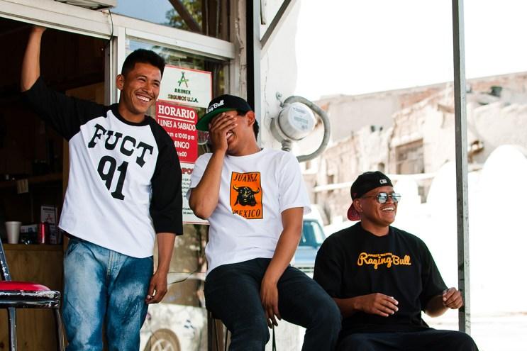 "FUCT ""Raging Bull"" Lookbook in Juarez, Mexico"