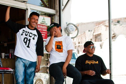 "FUCT ""Raging Bull"" Lookbook in Juarez, Mexico"