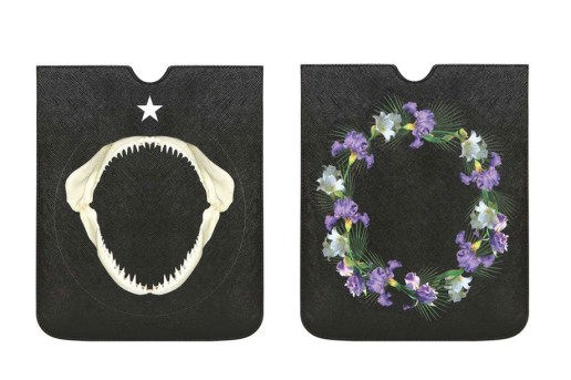 Givenchy 2013 Shark & Flower iPad Case
