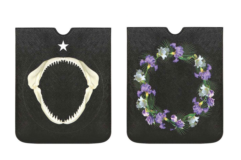 Givenchy 2013 Shark & Flower iPad Case