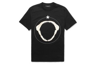 Givenchy 2013 Shark Teeth-Print Cotton T-Shirt