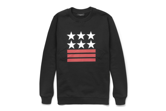 Givenchy Neoprene-Insert Printed Cotton Sweatshirt