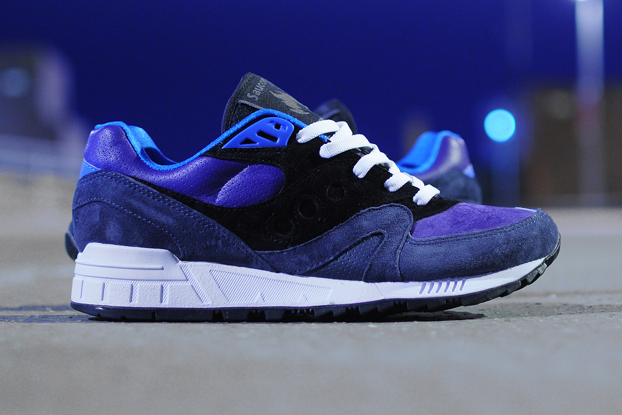 "hanon x Saucony Shadow Master ""The Midnight Runner"""