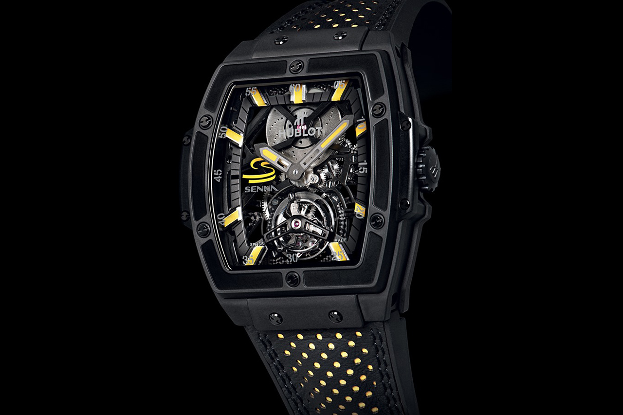 Hublot MP-06 Senna Tourbillon Watch
