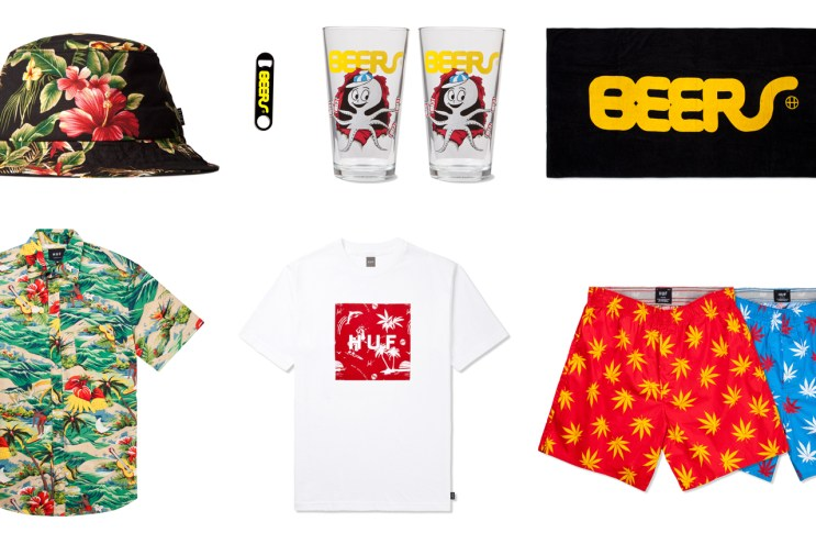 HUF 2013 Summer Collection