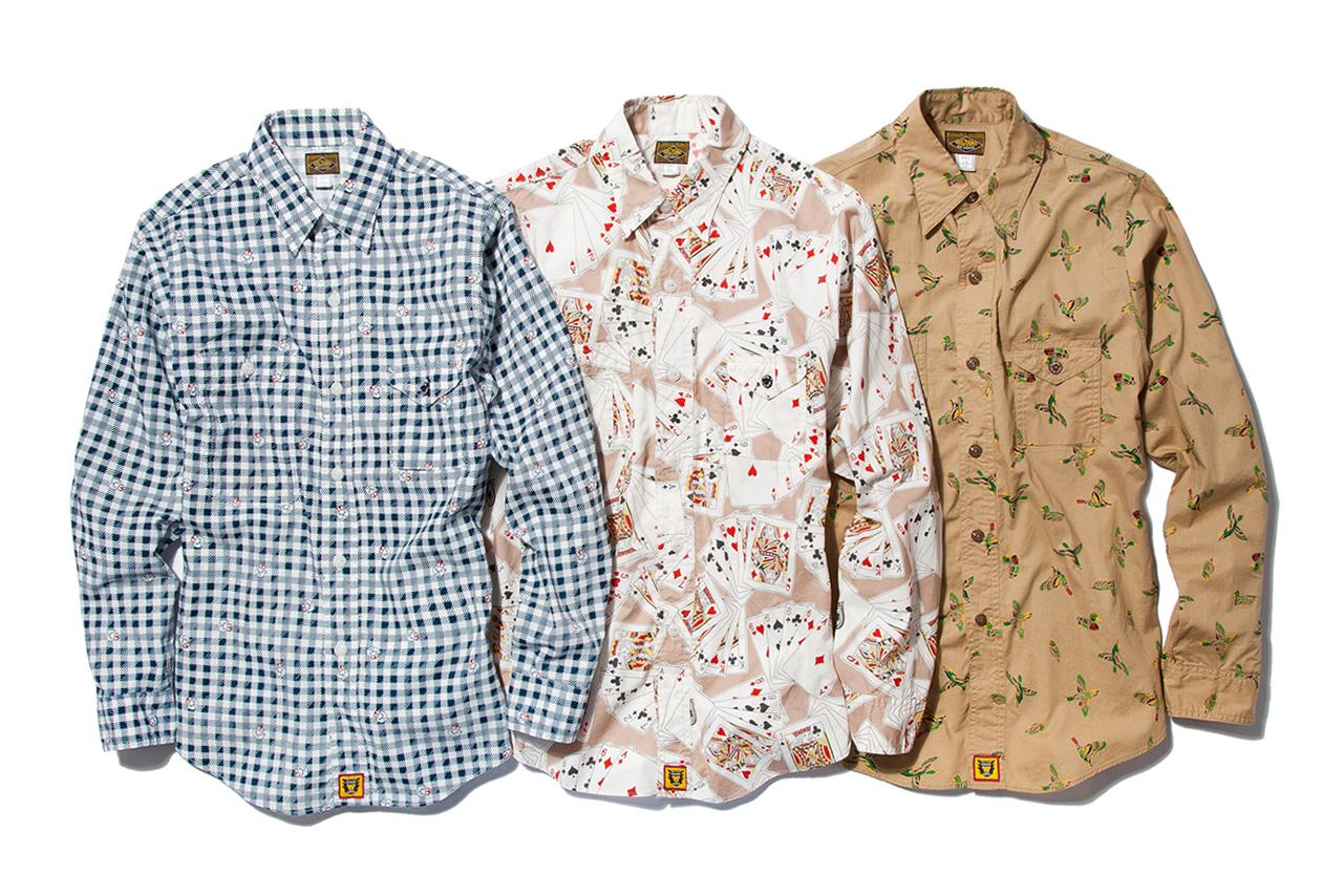 HUMAN MADE 2013 Spring/Summer Shirts