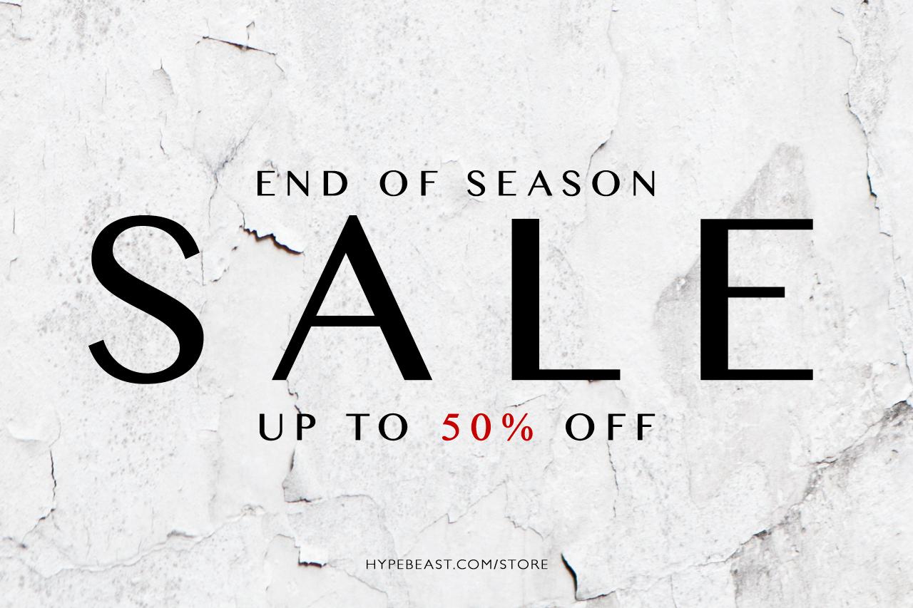 HYPEBEAST Store 2013 Spring/Summer Sale