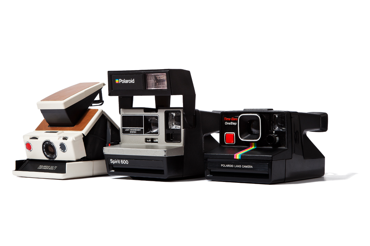 Impossible Refurbished Vintage Polaroid Cameras