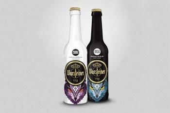 IWISHUSUN x Marcelo Burlon x Warsteiner Beer Bottle